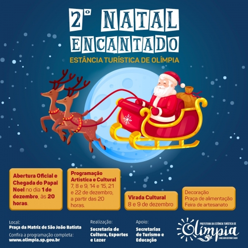 b4fb9f8bd Natal Encantado começa no dia 1º com diversas atrações culturais e  artísticas